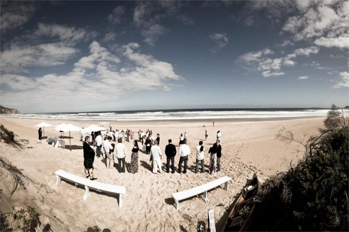 Wedding - Plettenberg Bay - Robberg Beach